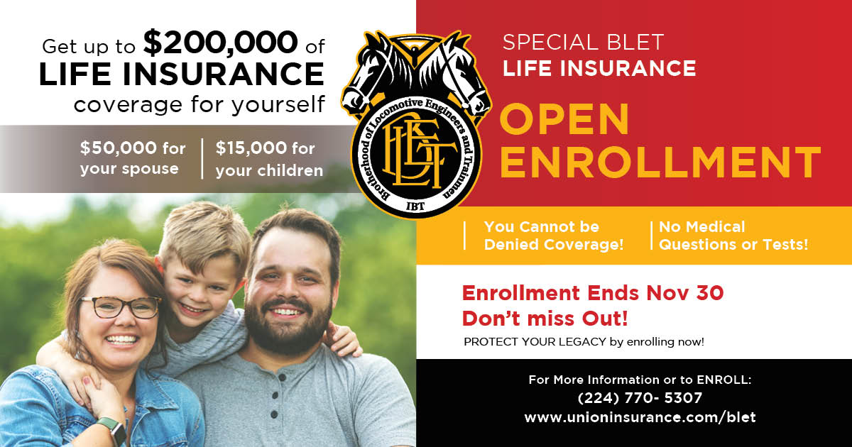 BLET_Special Life Open Enrollment_